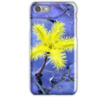 Yellow Snowflake iPhone Case/Skin