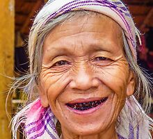 Tribal woman, Chiang Mai, Thailand by indiafrank