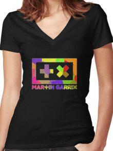 Garrix Women's Fitted V-Neck T-Shirt
