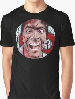 Evil Dead Ash Graphic T-Shirt