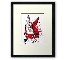 Blood bird Framed Print