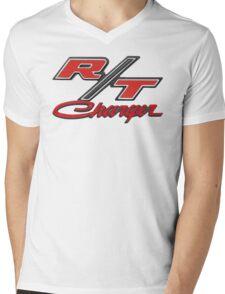 DODGE CHARGER R/T Mens V-Neck T-Shirt