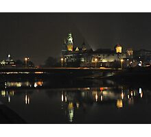 Wawel Castle by night Photographic Print
