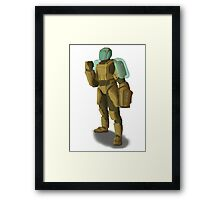 Soldier Framed Print