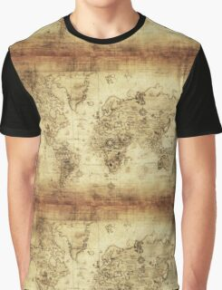 maps Graphic T-Shirt