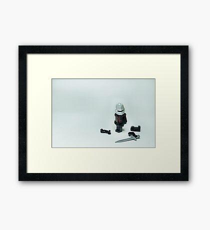 Monty Python Black Knight Framed Print
