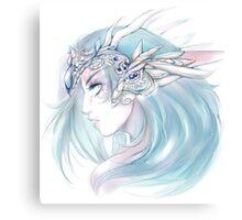 Moon Crown Canvas Print