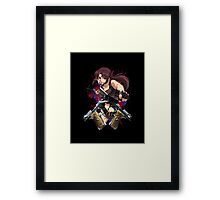 Trigger Happy Hands Framed Print