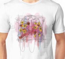 Caged Flowers Unisex T-Shirt