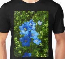 Delphinium Diamond Blue Unisex T-Shirt