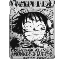 Wanted Grunge  iPad Case/Skin