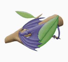 Tiny Lilac Tree Dragon Baby Tee