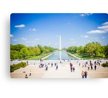 Washington D.C. Canvas Print