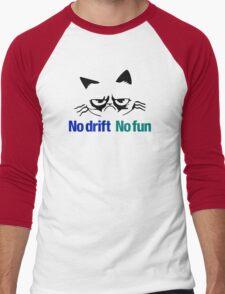 No drift No fun (2) Men's Baseball ¾ T-Shirt