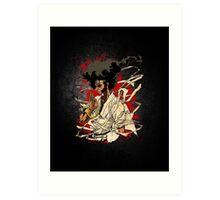 The Puffy Samurai Art Print