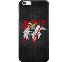 Heero Yuy and Wing Gundam Zero - Chibilette iPhone Case/Skin