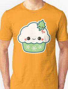 Green Christmas Cupcake Unisex T-Shirt
