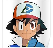 Ash pokemon Poster