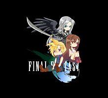 Final Fantasy VII - Chibilette by coffeewatson
