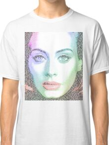 Adele (with lyrics from 'Hello') Classic T-Shirt