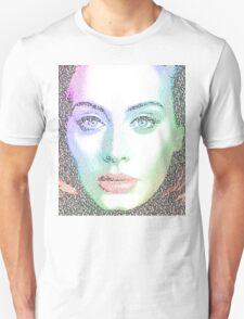 Adele (with lyrics from 'Hello') Unisex T-Shirt