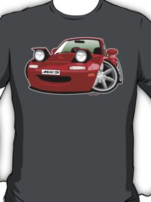 Mazda MX-5 caricature red T-Shirt