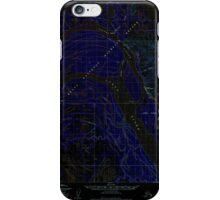 USGS TOPO Map Alaska AK Marshall D-1 357246 1952 63360 Inverted iPhone Case/Skin