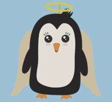 Penguin Angel   Kids Tee