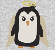 Penguin Angel   Kids Tee