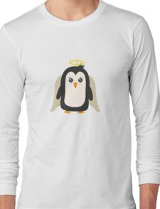 Penguin Angel   Long Sleeve T-Shirt