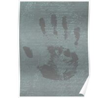 Hand Print Poster