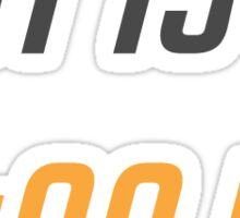 Overwatch - IT'S HIGH NOON Sticker