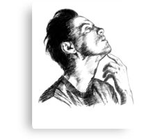 Andrew Scott Scribble Metal Print