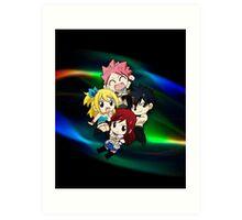 Fairy Tail - Chibilette Art Print