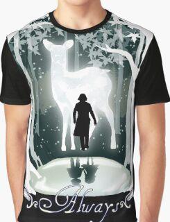 Snape Memories Black Graphic T-Shirt