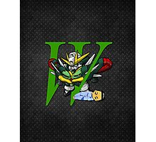 Chang Wufei and Altron Gundam - Chibilette Photographic Print