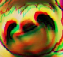hypno sloth Sticker
