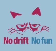 No drift No fun (7) Kids Tee
