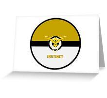 Pokemon Instinct Greeting Card