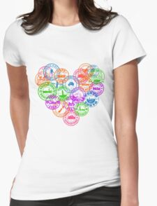 Stamps Womens Fitted T-Shirt