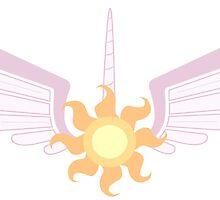Princess Celestia Symbol by Ysengrin