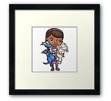 Toy Doctor Framed Print