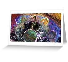 Galactic Conversation Greeting Card