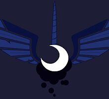Princess Luna Symbol by Ysengrin
