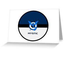 Pokemon Mystic Greeting Card
