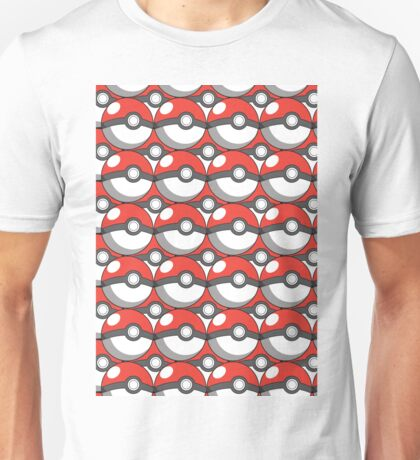 Pokeball Collage Unisex T-Shirt