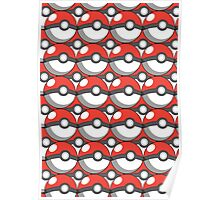 Pokeball Collage Poster