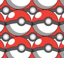 Pokeball Collage Sticker