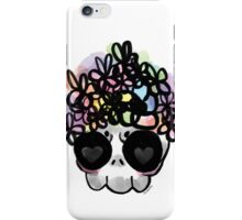 Flower Crown Skull  iPhone Case/Skin