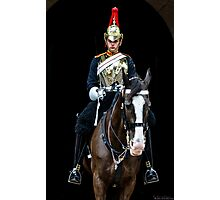 The Horse-guard Photographic Print